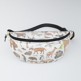 100 animals Fanny Pack