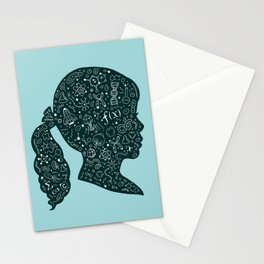 In a Science State of Mind Stationery Cards