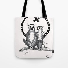 Lemur L'amur Tote Bag