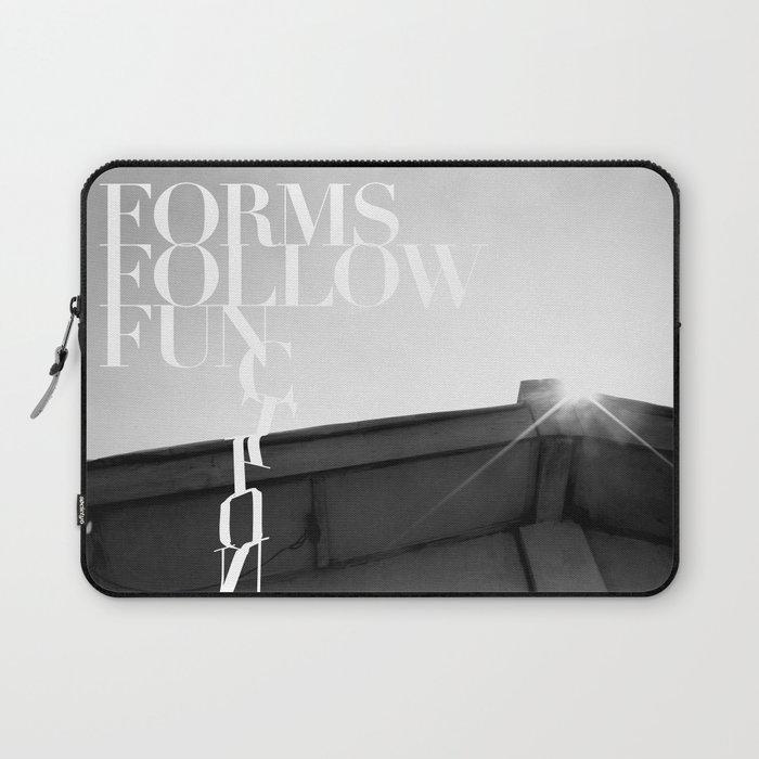 from follow fun Laptop Sleeve