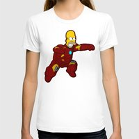 homer T-shirts featuring IRON HOMER by Betmac