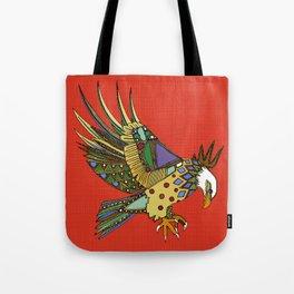 jewel eagle fire Tote Bag