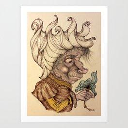 Sweet Creep Art Print