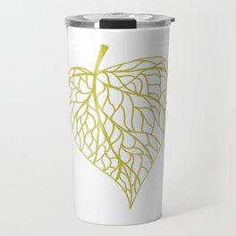 The Linden leaf Travel Mug