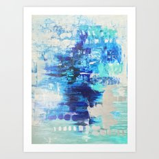 Walked on Water Art Print