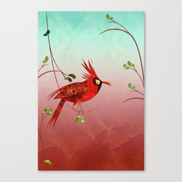 One Bird Canvas Print
