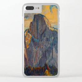 Vintage Yosemite National Park Clear iPhone Case