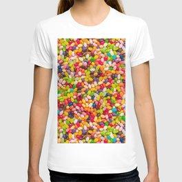 Gourmet Jelly Bean Pattern  T-shirt