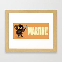 Martini! Framed Art Print