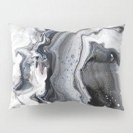 Marble B/W/G Pillow Sham