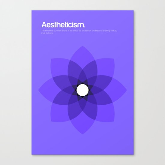 Aestheticism Canvas Print