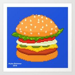 Pixel Art Art Prints Society6