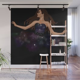 She is the Galaxy Wall Mural