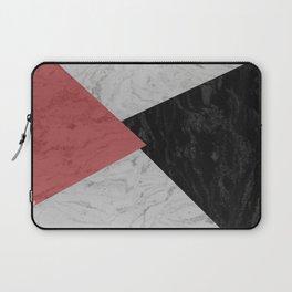MARBLE TRIANGULES Laptop Sleeve