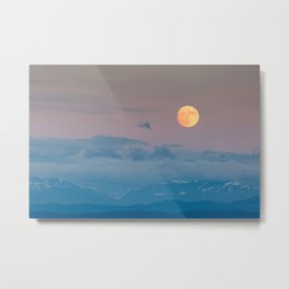 Full super moon December 2017 Metal Print