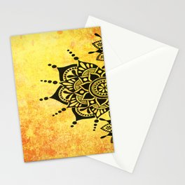 Bright Zen Circles Stationery Cards