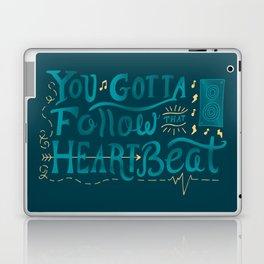 Follow That Heartbeat Laptop & iPad Skin