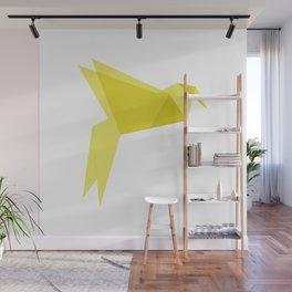 Origami Bird Wall Mural