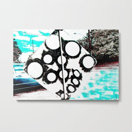 Overated/Underdone Metal Print