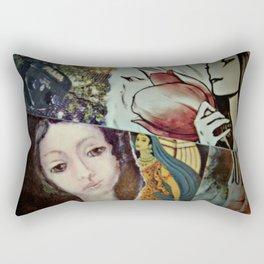 Blue Veil Rectangular Pillow