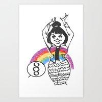 Gui! Art Print