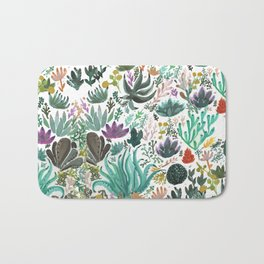 Succulent and Cacti Bath Mat