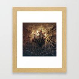 Domination Framed Art Print