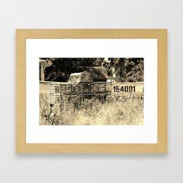 Dry Dock Framed Art Print