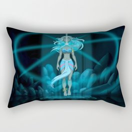 The Crystal Chamber Rectangular Pillow