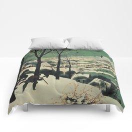HUNTERS IN THE SNOW - BRUEGEL Comforters