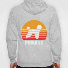 POODLES T-SHIRT Men And Women Hoody