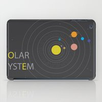 solar system iPad Cases featuring Solar System by Loaded Light Photography