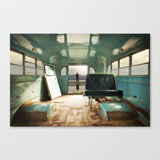 Emergency Door Canvas Print