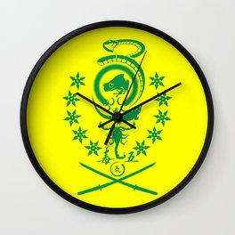 Five Deadly Venoms Wall Clock