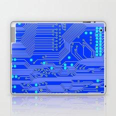 Blue Circuit Board  Laptop & iPad Skin