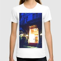 outdoor T-shirts featuring In Through the Outdoor~ New York City by 13th Moon Social Club