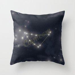 Capricorn Constellation - Zodiac Throw Pillow