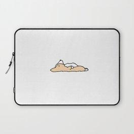 Sleeping Corgi Dog Laptop Sleeve
