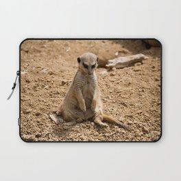 Sad Meerkat Laptop Sleeve