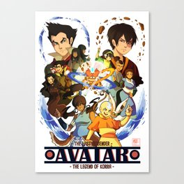 Team Avatar Canvas Print