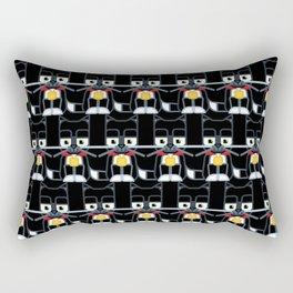 Super cute animals - Cute Kitty Cat Black Rectangular Pillow