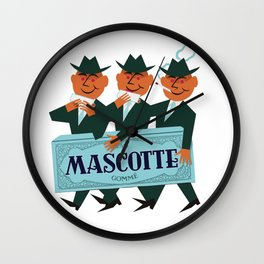 MASCOTTE rolling papers Wall Clock