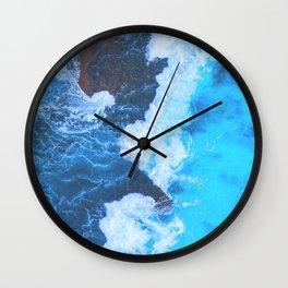 California Ocean Wall Clock