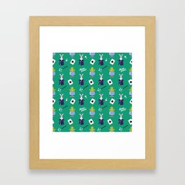 Hocus pocus - green Framed Art Print