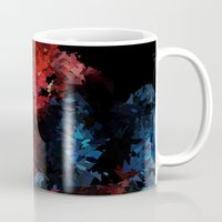 super hero Mugs featuring Super hero by David