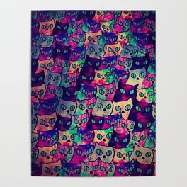 Cats  New colour No. 1 popularity 316 Poster