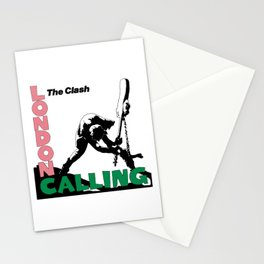 Theclash Londoncalling Stationery Cards