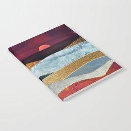 Crimson Sky Notebook