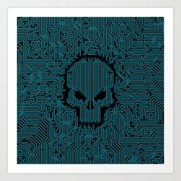 Bad Circuit Art Print