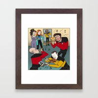 Star Trek Jam Band Framed Art Print